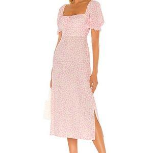 Faithfull the Brand Evelyn Midi Dress